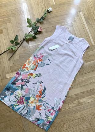 Платье next linen размер 12 м