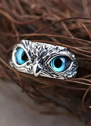 Кольцо птица винтажное колечко в стиле панк рок хип-хоп2 фото