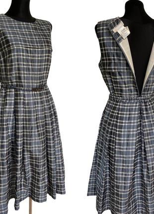 Фирменное стильное качественное натуральное платье из шёлка