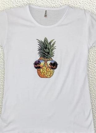 Женская футболочка  размер  42 44 46 🌱 хлопок 🌱