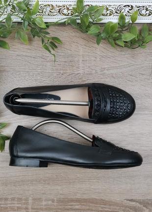 🌿38🌿европа🇪🇺 rocha john. кожа. фирменные качественные туфли