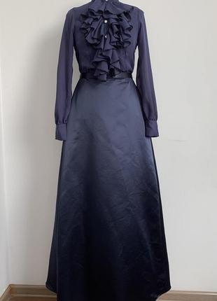 Барышня графиня викторианский костюм 44