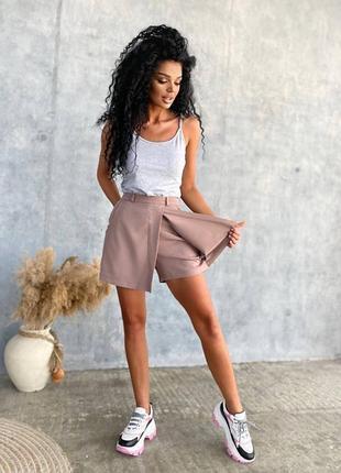 Хит сезона шорты - юбка супер качество