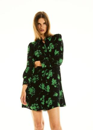Платье - рубашка zara