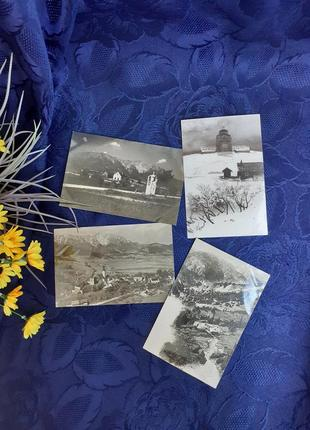 Вена австрия набор фотооткрыток винтаж черно-белые камерфотограф шумен