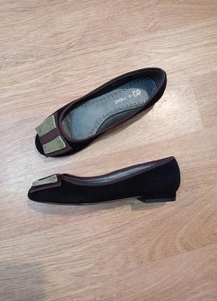 Потрясающие туфли замша