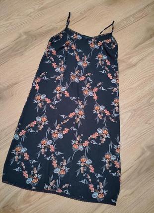 Платье комбинация в бельевом стиле
