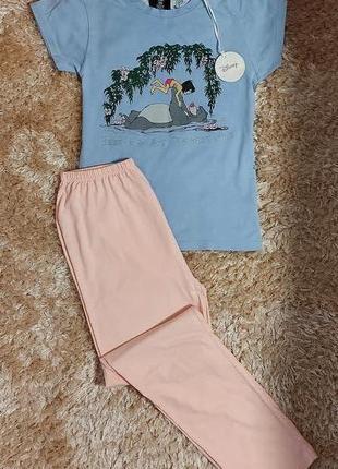 Фирменная пижамка или костюмчик для дома 4-6 размер, евро 32-34