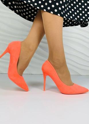 Женские туфли лодочки 13662 жіночі туфлі