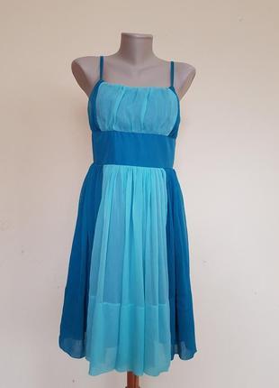 Красивое брендовое нарядное платье cubus