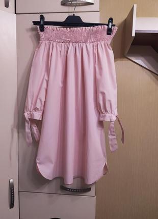 Платье на плечи от new look