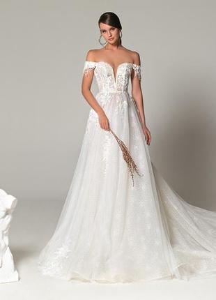 Свадебное платье, бренд eva lendel, 2019 б/у