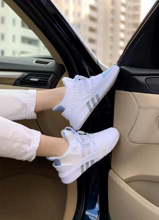 Adidas equipment white 🍏 стильные женские кроссовки адидас еквипмент