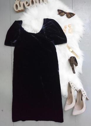 !!!распродажа!!!роскошное коктейльное велюровое платье #2max