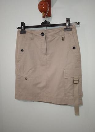 """P. m """"marc cain"""" карго соттоn юбка хлопок и лен3 фото"""