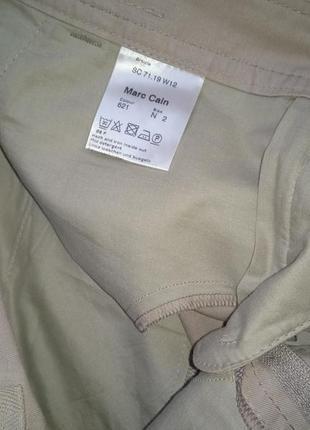 """P. m """"marc cain"""" карго соттоn юбка хлопок и лен8 фото"""