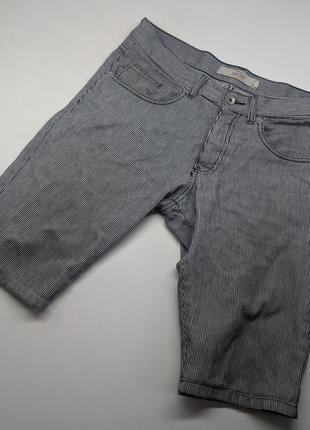 Мужские винтажные шорты в полоску