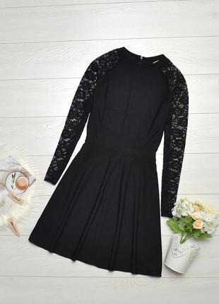 Чудове плаття з ажурними рукавами asos.