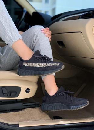 Adidas yeezy 350 cinder 🍏 женские мужские кроссовки адидас изи буст 350 рефлективная полоска