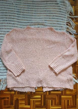 Пудровый свитер!