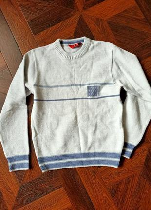 Теплий свитер кофта реглан в школу