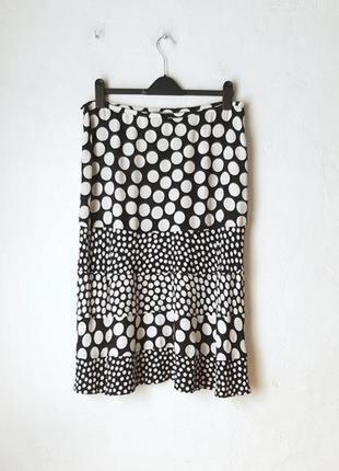 Легкая вискозная юбка