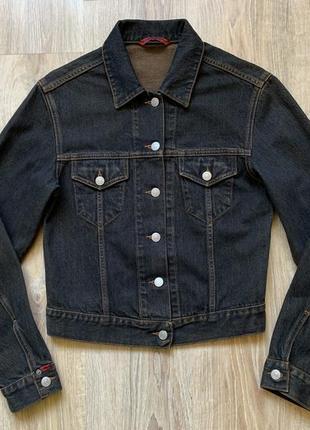 Женская оригинал джинсовая куртка kappa