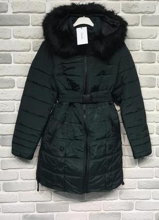 Классная зимняя куртка бирка