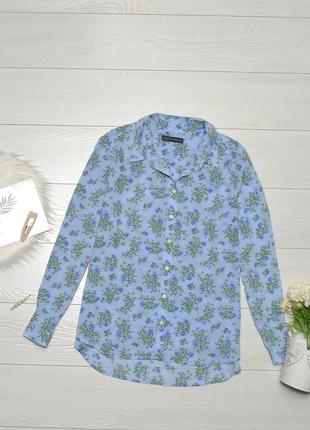 Красива блуза в квіти m&s collection.