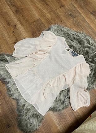 Пудровая блузка primary