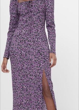 Платье bershka миди