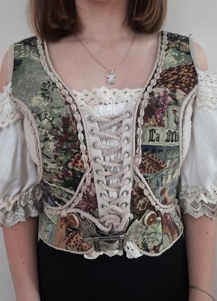 Блуза корсет stockerpoint