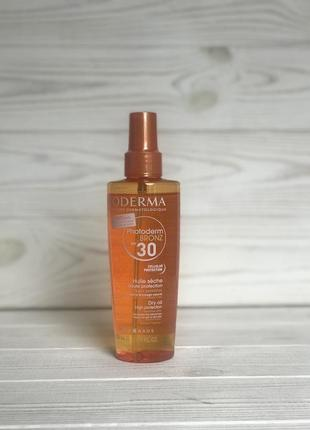 Bioderma photoderm bronz spf30. сонцезахисна олійка для засмаги spf30