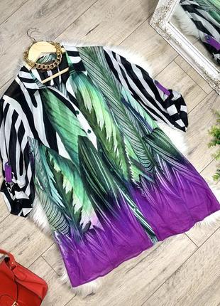 Лёгкая блуза большого размера