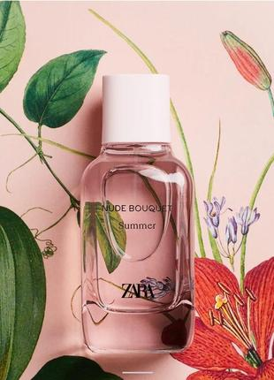 Zara nude bouquet summer edp 100ml2 фото