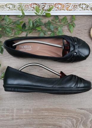 🌿39🌿европа🇪🇺 hotter. кожа. фирменные качественные туфли