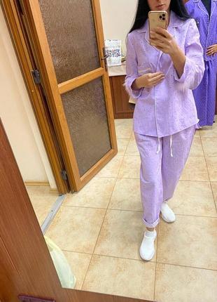 В пижамном стиле