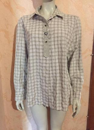 Рубашка ретро винтаж landhaus