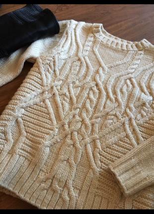 Очень тёплый свитер