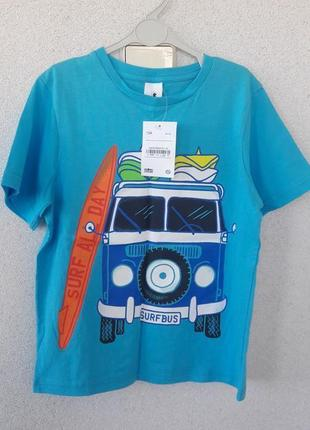 Новая футболка c&a palomino 134 р.