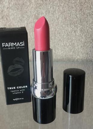 Губная помада true color farmasi тон16 розовая страна