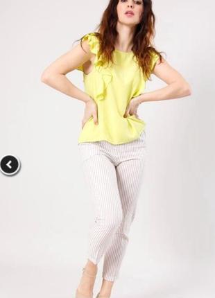 Блуза с крылышком на завязке