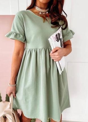 Женское платье «кулир»