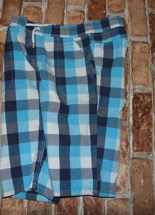 Стильные шорты бермуды хлопковые мальчику 10 лет palomino
