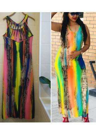 Длинное платье в стиле mugler