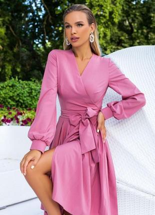 Рожеве плаття на запах