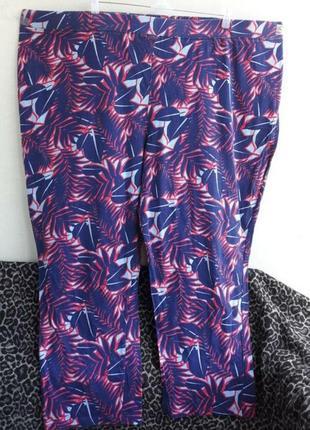 Пижамные хлопковые штаны 32/34 размер