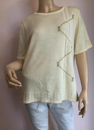 Базовая симпатичная блузка/m- l/ brend canda