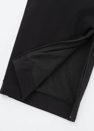 Женские зимние теплые брюки uniqlo штаны утепленные xl xxl 50-52р на флисе