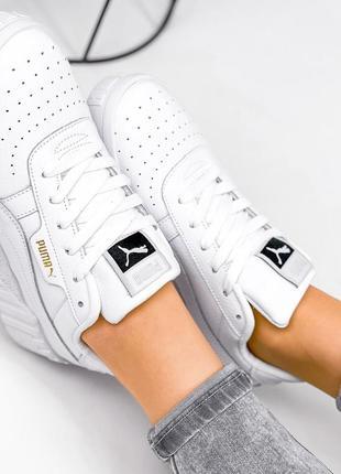 Рр 36-41. белые кожаные кроссовки кеды из натуральной кожи6 фото